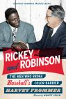 link and cover image for the book Rickey and Robinson: The Men Who Broke Baseball's Color Barrier