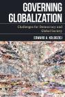 link and cover image for the book Governing Globalization: Challenges for Democracy and Global Society