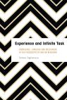 link and cover image for the book Experience and Infinite Task: Knowledge, Language and Messianism in the Philosophy of Walter Benjamin