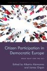 link and cover image for the book Citizen Participation in Democratic Europe: What Next for the EU?